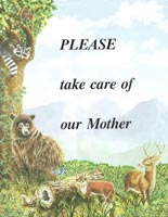 Please take care of our Mother